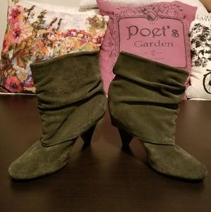 Steve Madden slouchy ankle boots